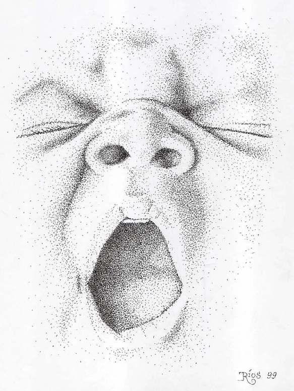 Dibujos de rostros de-bebés-a lapiz - Imagui